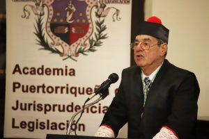 Instalación como Académico Numerario del licenciado Noel González Miranda